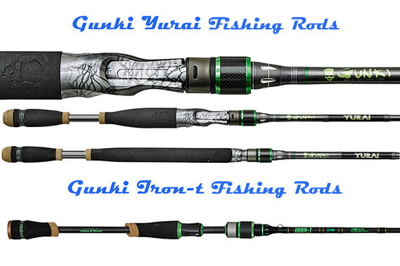 High Quality Fishing Rods from Gunki