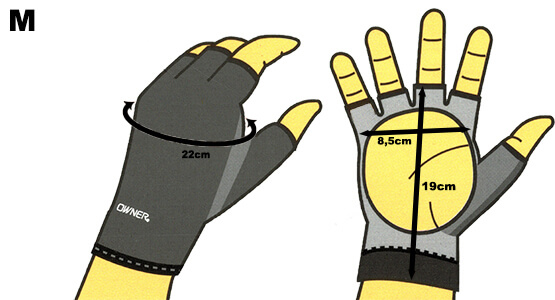 Sensitive Gloves Size M