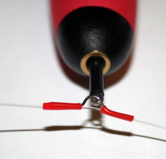 Posen-Einhänger mit Silikonschlauch