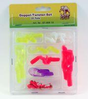 Behr Doppelschwanz Twister-Set 23 Teile mit Bleiköpfen