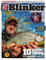 Blinker Zeitschrift 12-2016 Dezember mit 32 Seiten Zander-Spezial