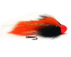 Eumer Spintube North Slow Sinking Streamer Black Orange