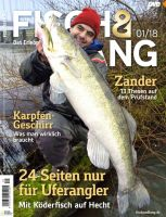 Fisch & Fang Magazin 01-2018 Januar mit DVD