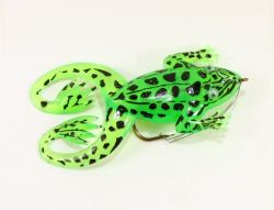 Jenzi Jack's Rubber Froggy Frog green black
