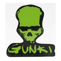 Gunki Aufkleber Skull PM Totenkopf 120x127mm