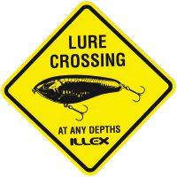 Illex Sticker Lure Crossing 9x9cm