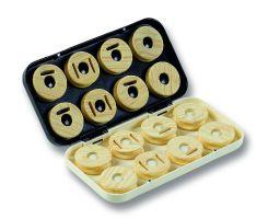 Jenzi plastic case flyfishing box with 16 coils 22,9x11,9x3cm