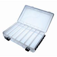 Jenzi Kunststoffbox Transparent 27,5x15x5cm