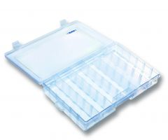 Jenzi Kunststoffbox Transparent 27,3x17,6x4,4cm
