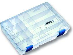 Jenzi Kunststoffbox Transparent 27,5x18x4,2cm
