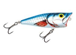 Salmo Pop Popper silver metallic shiner SMS 6cm 7g