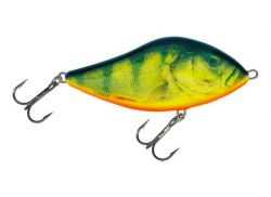 Salmo Slider Jerkbait barsch hot perch RHP  schwimmend 12 cm 60g