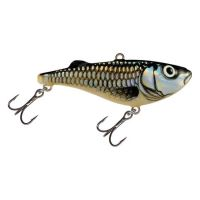 Salmo Zipper Sinking Wobbler Silver Black Red SBR