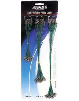 Jenzi Stahlvorfächer nylonummantelt grün 12kg 72 Stück