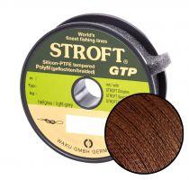 Schnur STROFT GTP Typ R Geflochtene 100m dunkelbraun  R4-0,22mm-9kg