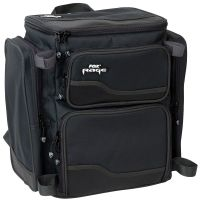 Fox Rage Backpack with 3 Tackle Boxes black