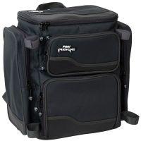 Fox Rage Rucksack mit 3 Tackle-Boxen schwarz
