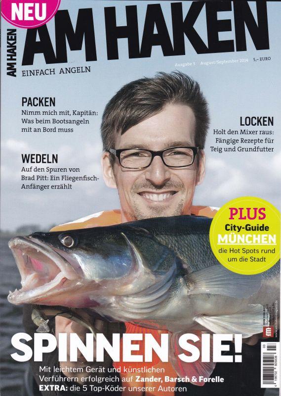 Am haken juni juli ausgabe 2014 purchase by koeder laden for Fishing license az price