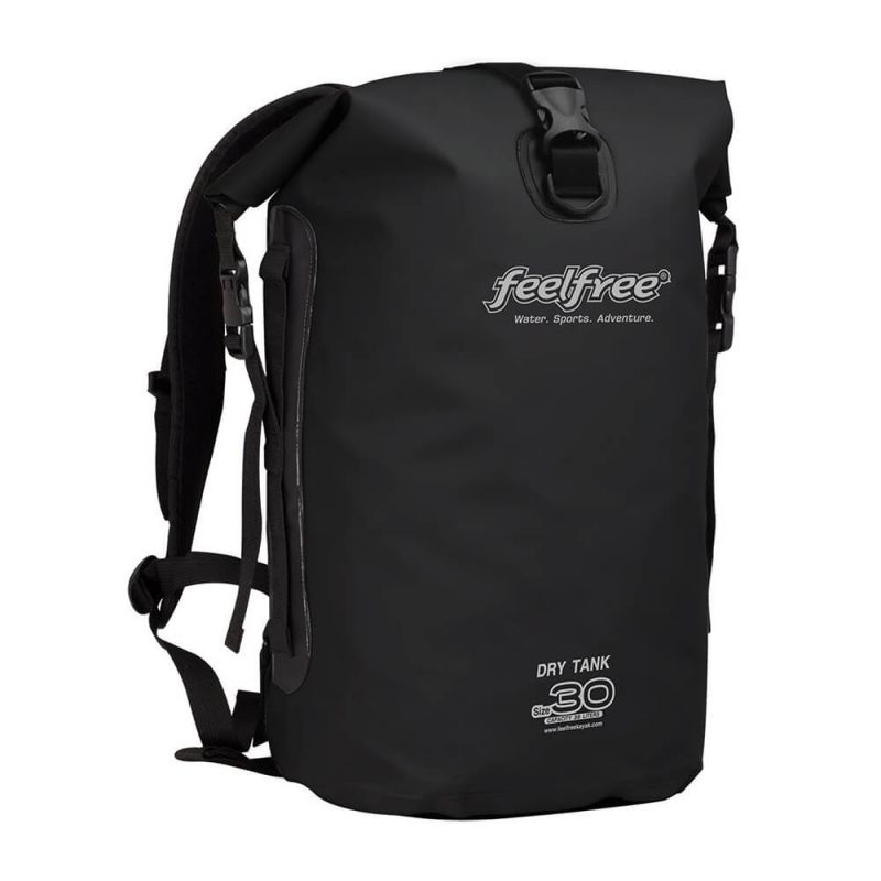 feelfree dry tank 30l wasserdichter kajak rucksack schwarz. Black Bedroom Furniture Sets. Home Design Ideas