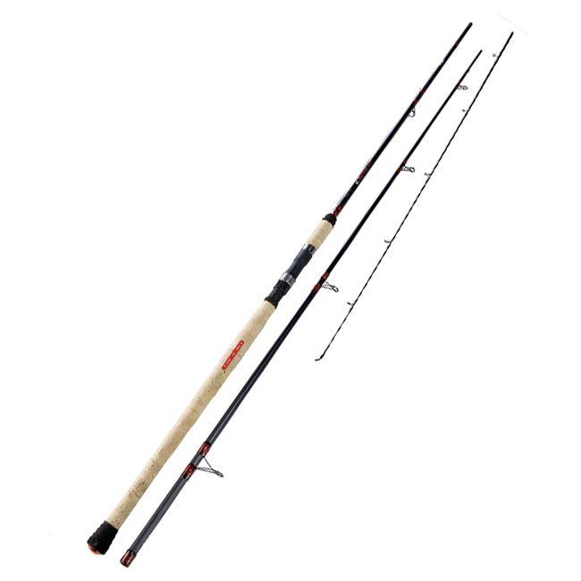 Jenzi spinning rod auwa red rocket limited edition 3 90m for Rocket rod fishing pole
