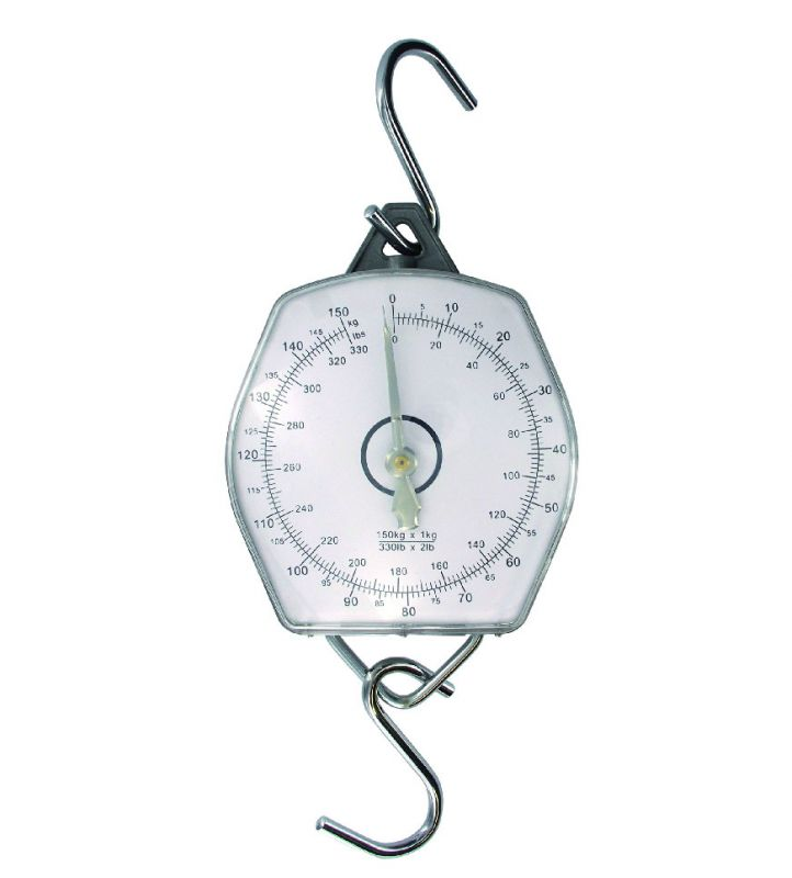 Jenzi fish weighing scale 330lb 150kg purchase by koeder for Fish weight scale