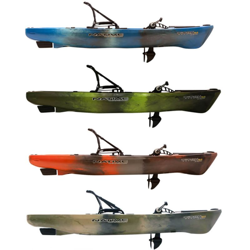 Native Watercraft Fishing kayak Titan Propel 10 5 - purchase