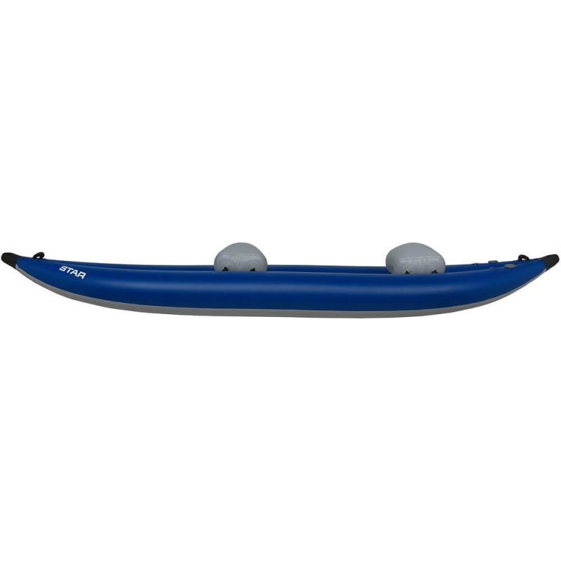 NRS Inflatable Kayak Star Outlaw II Blue