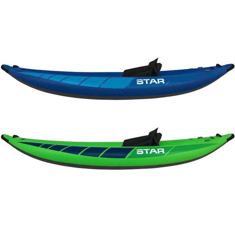 NRS Inflatable Kayak Star Raven I