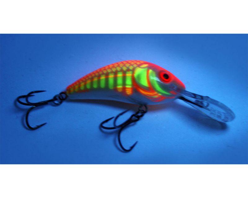 Salmo Rattlin Hornet Wobbler Ultraviolet Orange UVO