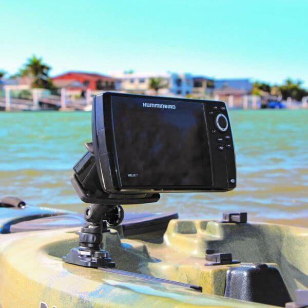 Railblaza Echolothalterung Fish Finder Mount R-Lock R Angelzubehör Fischfinder